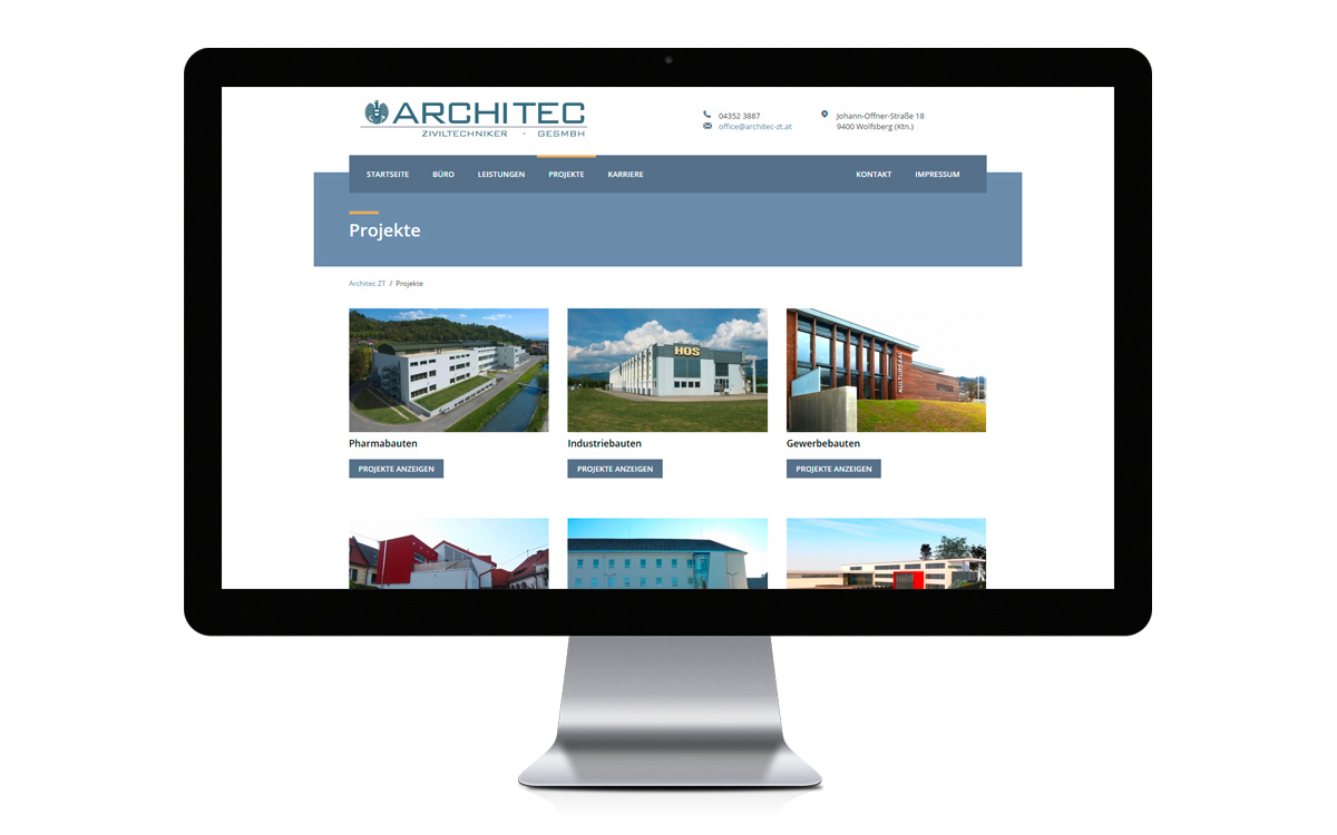 Architec ZT - Website